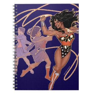 Wonder Woman Diana Prince Transformation Notebooks