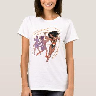 Wonder Woman Diana Prince Transformation T-Shirt