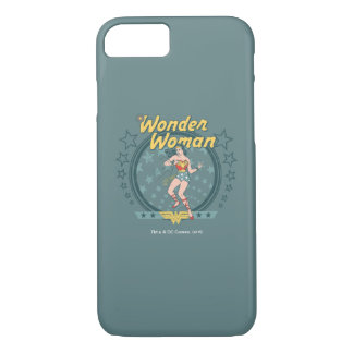 Wonder Woman Distressed Star Design iPhone 8/7 Case