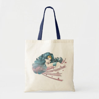 Wonder Woman Dolphin and Stripes Budget Tote Bag