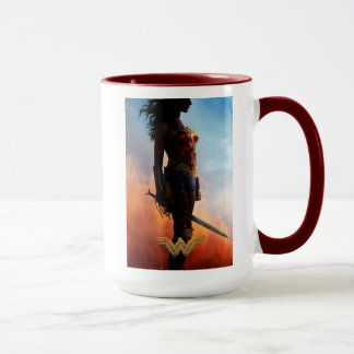 Wonder Woman Duststorm Silhouette Mug