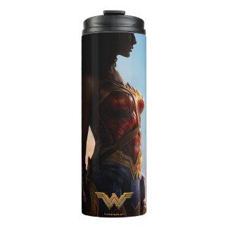 Wonder Woman Duststorm Silhouette Thermal Tumbler