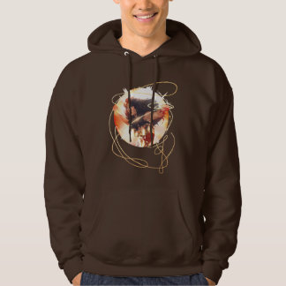 Wonder Woman Encyclopedia Cover Hoodie