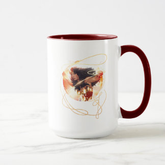 Wonder Woman Encyclopedia Cover Mug