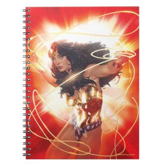 Wonder Woman Encyclopedia Cover Notebooks