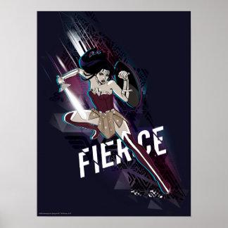 Wonder Woman - Fierce Poster