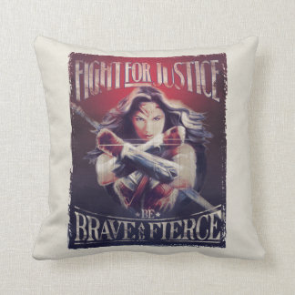 Wonder Woman Fight For Justice Cushion