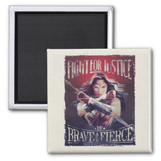 Wonder Woman Fight For Justice Magnet