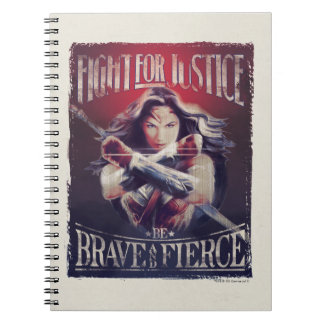 Wonder Woman Fight For Justice Notebook
