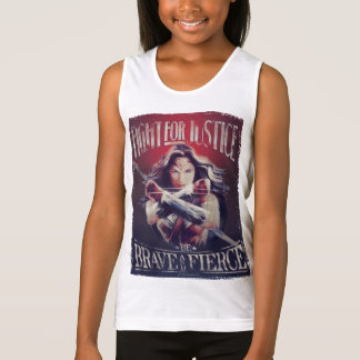 Wonder Woman Fight For Justice Singlet