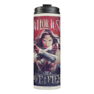 Wonder Woman Fight For Justice Thermal Tumbler