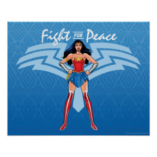Wonder Woman - Fight For Peace Poster