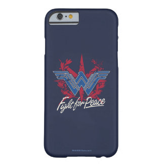 Wonder Woman Fight For Peace Symbol Barely There iPhone 6 Case
