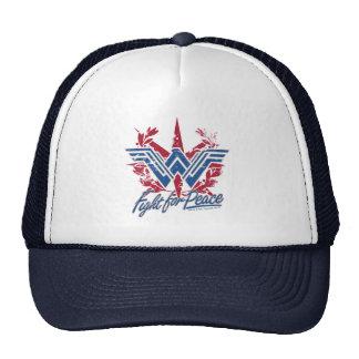 Wonder Woman Fight For Peace Symbol Cap
