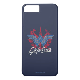 Wonder Woman Fight For Peace Symbol iPhone 8 Plus/7 Plus Case