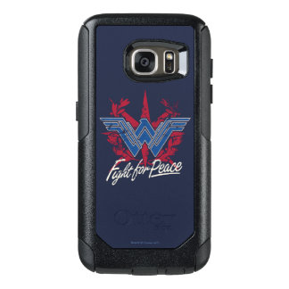 Wonder Woman Fight For Peace Symbol OtterBox Samsung Galaxy S7 Case