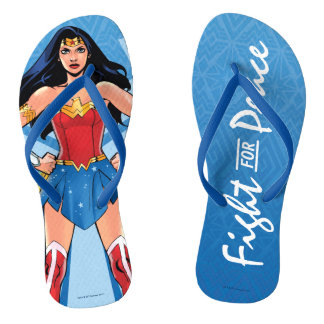 Wonder Woman - Fight For Peace Thongs
