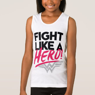 Wonder Woman - Fight Like A Hero Singlet