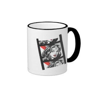 Wonder Woman Film Strip Ringer Mug