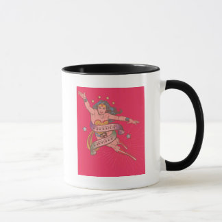 Wonder Woman Freedom Fighter Mug