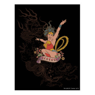 Wonder Woman Goddess Postcard