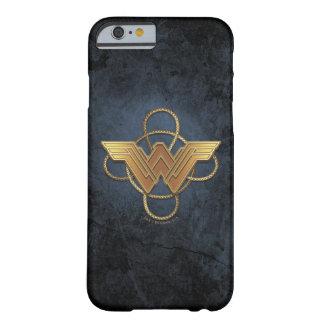 Wonder Woman Gold Symbol Over Lasso Barely There iPhone 6 Case