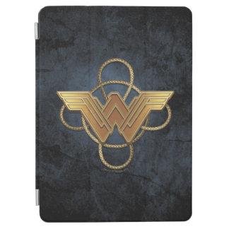 Wonder Woman Gold Symbol Over Lasso iPad Air Cover