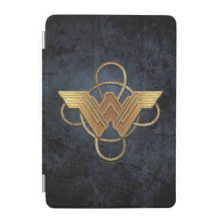 Wonder Woman Gold Symbol Over Lasso iPad Mini Cover