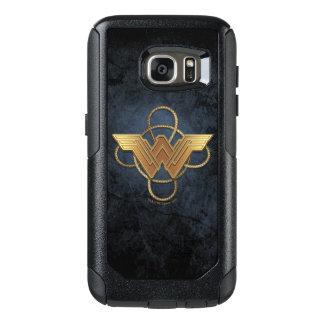 Wonder Woman Gold Symbol Over Lasso OtterBox Samsung Galaxy S7 Case