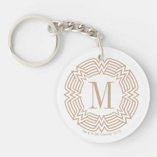 Wonder Woman Greek Pattern Key Ring