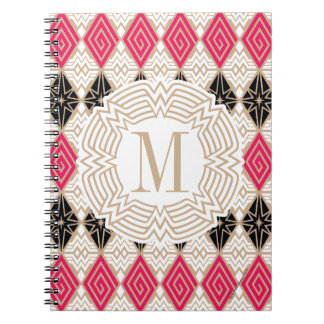 Wonder Woman Greek Pattern Notebooks