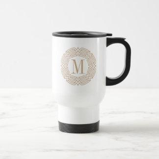 Wonder Woman Greek Pattern Travel Mug