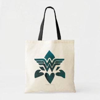 Wonder Woman Grunge Logo Budget Tote Bag