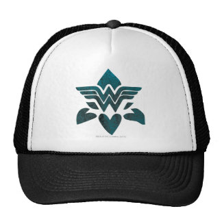 Wonder Woman Grunge Logo Cap