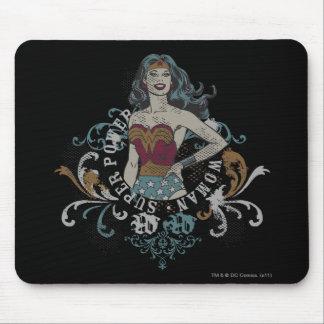 Wonder Woman Halftone Mousepads