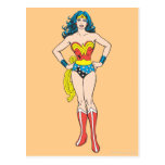 Wonder Woman Hands on Hips Postcard
