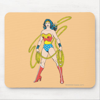 Wonder Woman Holds Lasso 5 Mouse Pad