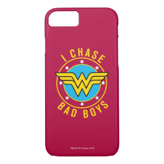 Wonder Woman - I Chase Bad Boys iPhone 8/7 Case