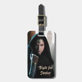 Wonder Woman in Cloak Luggage Tag