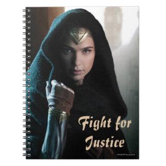 Wonder Woman in Cloak Notebook