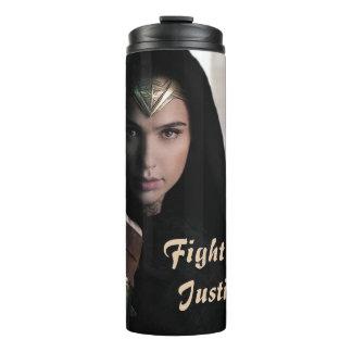 Wonder Woman in Cloak Thermal Tumbler