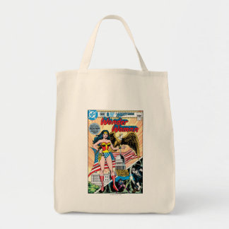 Wonder Woman Issue #272 Grocery Tote Bag