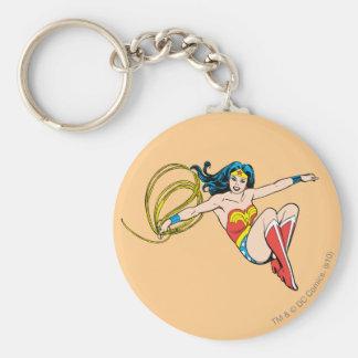 Wonder Woman Jumping Key Ring