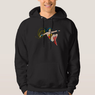 Wonder Woman Jumping Pullover