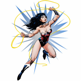 Wonder Woman & Lasso of Truth Cut Outs