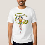 Wonder Woman Lasso over Head T Shirts