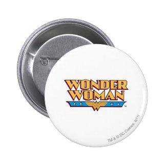 Wonder Woman Logo 2 Button