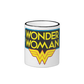 Wonder Woman Logo 3 Coffee Mug
