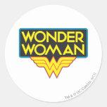 Wonder Woman Logo 3 Stickers