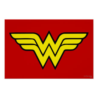 Wonder Woman Logo Poster